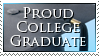 Proud College Graduate by sugarpoultry