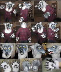 Snarly Werewolf Costume by sugarpoultry