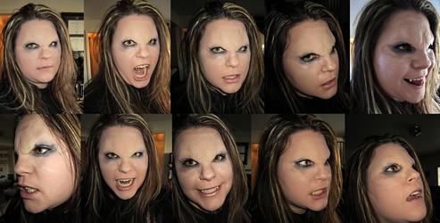 Vampire Prosthetics by sugarpoultry