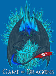 Game of Dragons - Crossover T-shirt by sugarpoultry