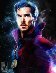 Doctor Strange by sugarpoultry