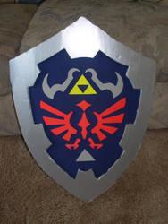 Legend of Zelda Hylian Shield by sugarpoultry