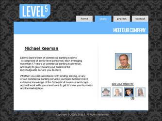 LEVEL5 website by ViNz-