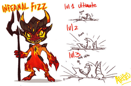Infernal Fizz by BlazeMalefica