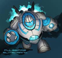 Pulsefire Blitzcrank by BlazeMalefica