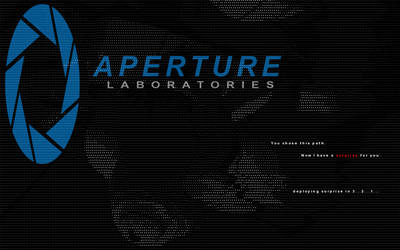 Aperture Branded Surprise by Agent1022