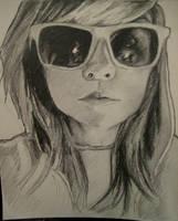 Neww Self Portrait by loveandasandwich
