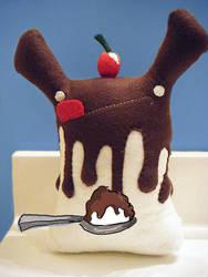 Hot Fudge Sundae Drizzle by loveandasandwich
