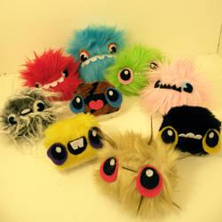 Nine monster babies by loveandasandwich