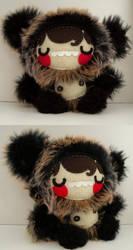 Grik the Grizzly Bear Kid by loveandasandwich