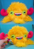 Neon Monstroctopus by loveandasandwich