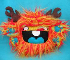 Fiery Furred Baby Weeko by loveandasandwich