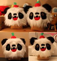 Panda Cupcakes by loveandasandwich