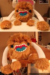Pablove Monster by loveandasandwich