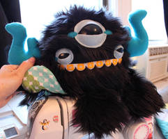 Triclops Monstroctopus by loveandasandwich