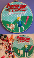 Fionna and Cake Hoop by loveandasandwich