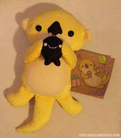 Yellow Otter by loveandasandwich