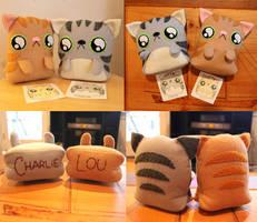 Custom Cats by loveandasandwich