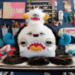 Three Faced Monstroctopus by loveandasandwich