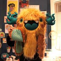 Mint-Eyed Monstroctopus by loveandasandwich
