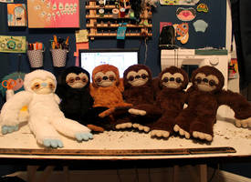 Sloth Squad by loveandasandwich