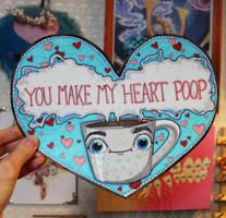 Coffee Valentine by loveandasandwich