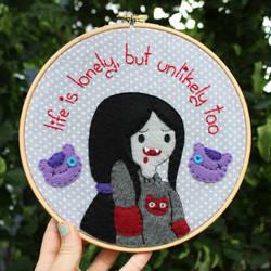 Marceline hoop by loveandasandwich