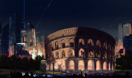 Colosseum by FEN-OSHI