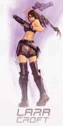 Lara Croft by bayanghitam