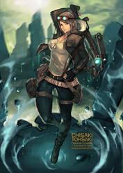 Commission : Chisaki Tohsaki by bayanghitam