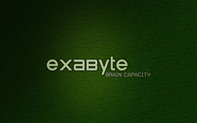 Exabyte - Brain Capacity by Verxuz