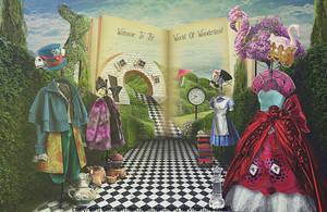 Wonderland Fashion Show by aaTmaHira