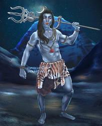 Lord Shiva ~ by aaTmaHira