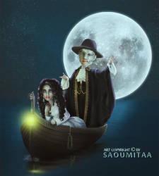 Phantom in Moonlight by aaTmaHira