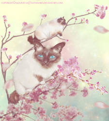 Kitty Blossoms by aaTmaHira