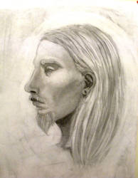 Charcoal Portrait 2 by Zooshi