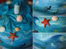 Blue blue sea by Evelin-Novemberdusk