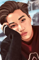Kai EXO by honeypopcorn