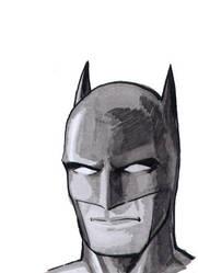 Batman sketch by Davinder