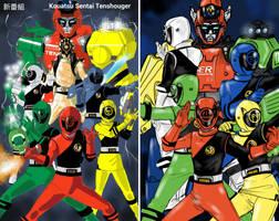 Kouatsu Sentai Tenshouger ! Sanjou ! by SantoKuma