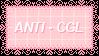 Anti Cgl Stamp by King-Lulu-Deer-Pixel