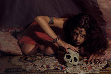 The fortune teller by cunene