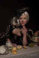 Still life and girl by cunene