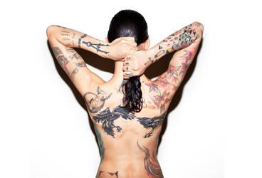 mrs tattoo by arazugur