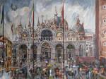 San Marco - Sudden Rain by raysheaf