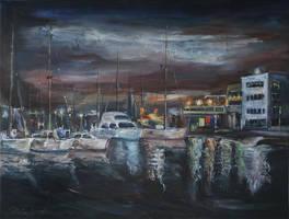 The Sleeping Port by raysheaf