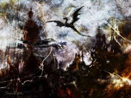 Dragon Realms II by raysheaf