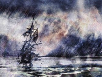 Sound of Silence II by raysheaf