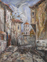 Old Plovdiv - Late Autumn II by raysheaf