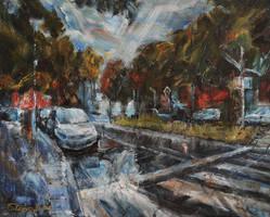 Summer Rain by raysheaf